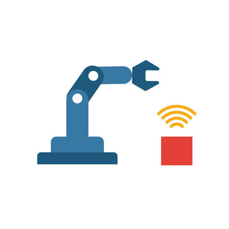 Cyber Physical Systems icon. Colored creative element from industry 4.0 collection.
