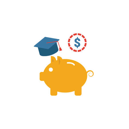College Saving Plan icon. Simple element from personal finance icons collection. Creative College Saving Plan icon ui, ux, apps, software and infographics.