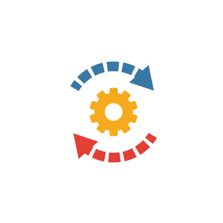 Automation icon. Simple element from productivity icons collection. Creative Automation icon ui, ux, apps, software and infographics. Ilustrace