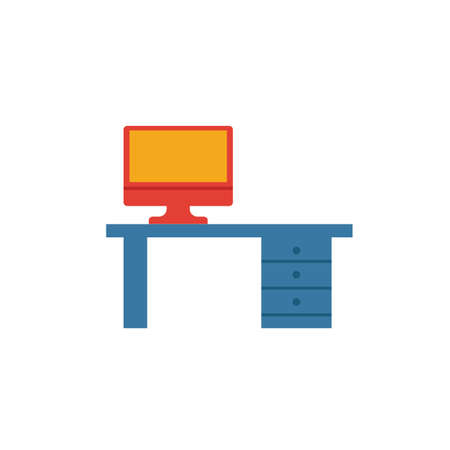 Workplace icon. Simple element from productivity icons collection. Creative Workplace icon ui, ux, apps, software and infographics. Illustration