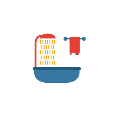 Bathroom icon. Simple element from real estate icons collection. Creative Bathroom icon ui, ux, apps, software and infographics.