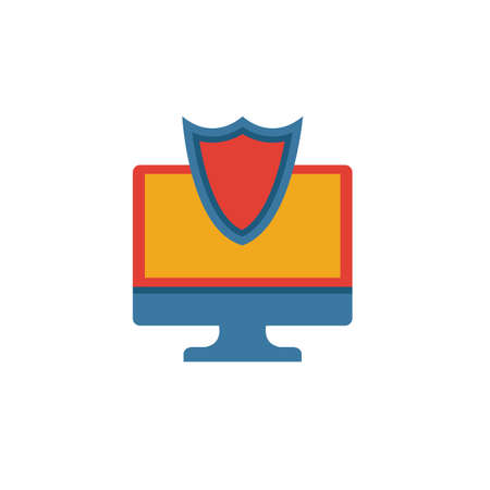 Secure System icon. Simple element from security icons collection. Creative Secure System icon ui, ux, apps, software and infographics.