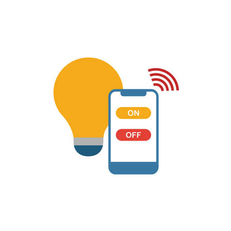 Smart Light icon. Simple element from smart devices icons collection. Creative Smart Light icon ui, ux, apps, software and infographics. Иллюстрация