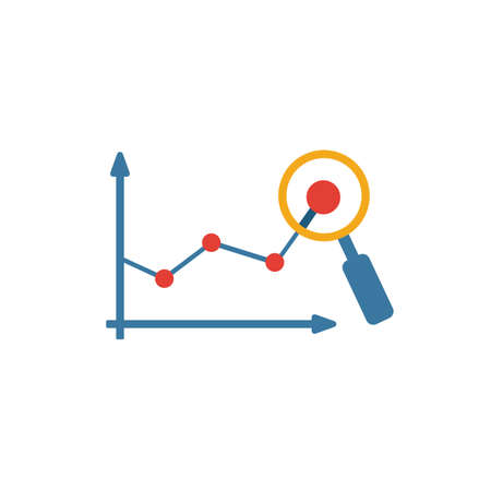 Predictive Analytics icon. Simple flat element from crm collection. Creative predictive analytics icon for templates, software and apps.