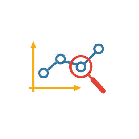 Marketing Monitoring icon. Flat creative element from advertising icons collection. Colored marketing monitoring icon for templates, web design and software.