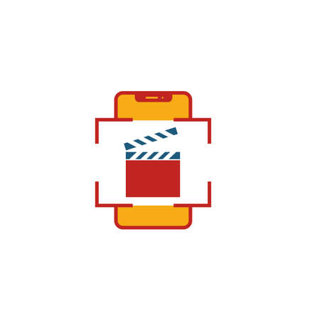 Augmented Reality Video icon. Flat creative element from visual device icons collection. Colored augmented reality video icon for templates, web design and software.