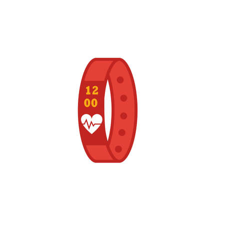 Sport Bracelet icon. Flat creative element from visual device icons collection. Colored sport bracelet icon for templates, web design and software.