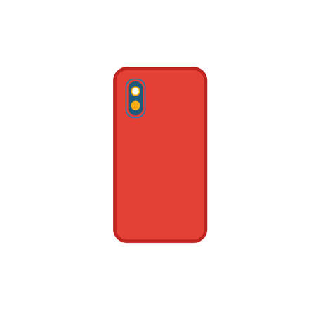 Dual Camera icon. Flat creative element from visual device icons collection. Colored dual camera icon for templates, web design and software.
