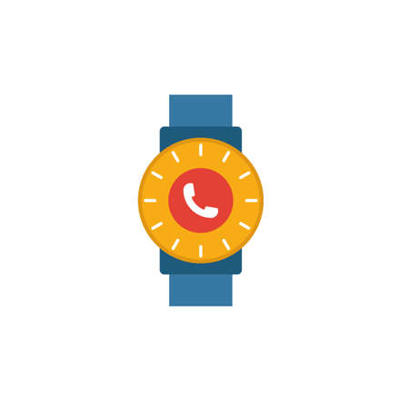 Smart Watch icon. Flat creative element from visual device icons collection. Colored smart watch icon for templates, web design and software.