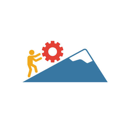 Persistence icon. Simple element from soft skills icons collection. Creative Persistence icon ui, ux, apps, software and infographics.