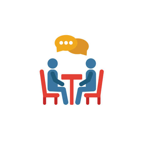 Negotiation icon. Simple element from soft skills icons collection. Creative Negotiation icon ui, ux, apps, software and infographics.
