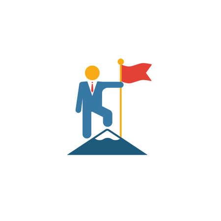 Achievements icon. Simple element from human resources icons collection. Creative Achievements icon ui, ux, apps, software and infographics.
