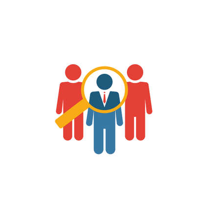 Selection icon. Simple element from human resources icons collection. Creative Selection icon ui, ux, apps, software and infographics.
