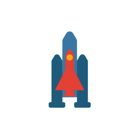 Spaceship icon. Simple element from space icons collection. Creative Spaceship icon ui, ux, apps, software and infographics.