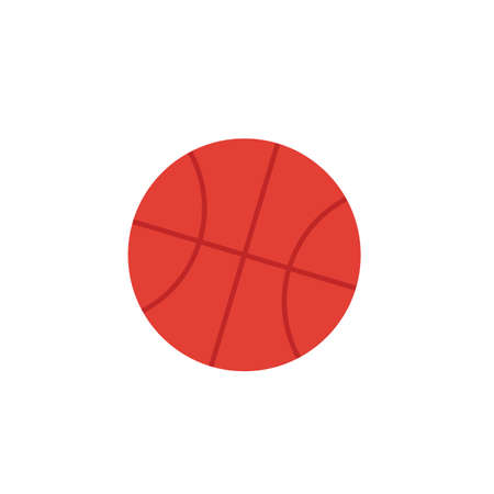 Basketball icon. Simple element from sport equipment icons collection. Creative Basketball icon ui, ux, apps, software and infographics. Ilustrace