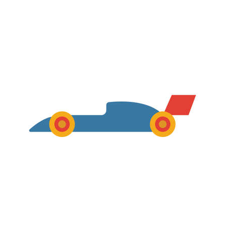 Racing Car icon. Simple element from sport equipment icons collection. Creative Racing Car icon ui, ux, apps, software and infographics. Ilustrace