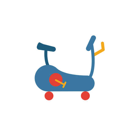 Exercise Bike icon. Simple element from sport equipment icons collection. Creative Exercise Bike icon ui, ux, apps, software and infographics.