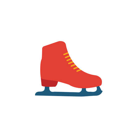 Skates icon. Simple element from sport equipment icons collection. Creative Skates icon ui, ux, apps, software and infographics. 일러스트