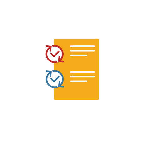Testing icon. Simple element from project management icons collection. Creative Testing icon ui, ux, apps, software and infographics. Ilustrace