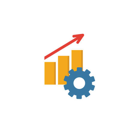 Productivity icon. Simple element from project management icons collection. Creative Productivity icon ui, ux, apps, software and infographics.