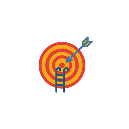 Goal Seeking icon. Simple element from project management icons collection. Creative Goal Seeking icon ui, ux, apps, software and infographics.