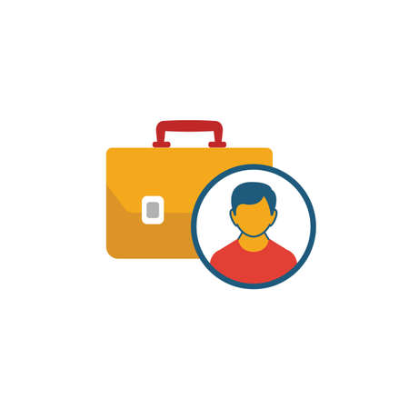 Employability icon. Simple element from project management icons collection. Creative Employability icon ui, ux, apps, software and infographics. Ilustrace