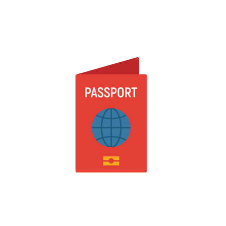 International Passport icon. Simple element from tourism icons collection. Creative International Passport icon ui, ux, apps, software and infographics.