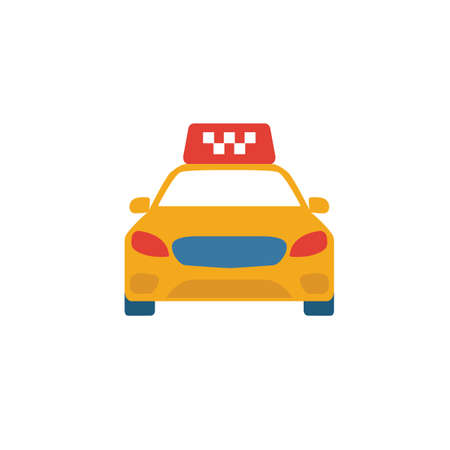 Taxi icon. Simple element from tourism icons collection. Creative Taxi icon ui, ux, apps, software and infographics.