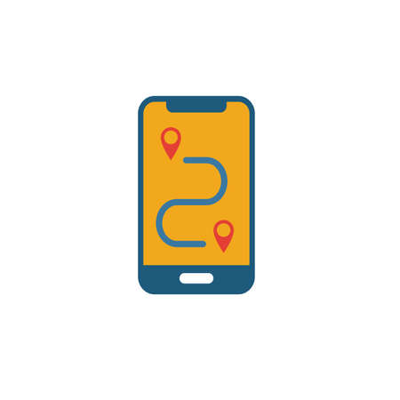 Route icon. Simple element from tourism icons collection. Creative Route icon ui, ux, apps, software and infographics.