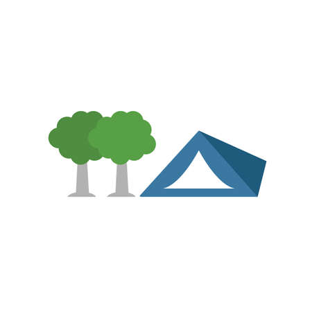 Camping icon. Simple element from tourism icons collection. Creative Camping icon ui, ux, apps, software and infographics.