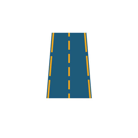 Road icon. Simple element from transport icons collection. Creative Road icon ui, ux, apps, software and infographics.