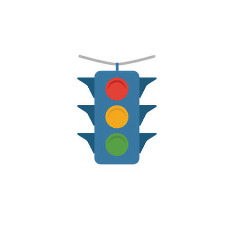 Traffic Light icon. Simple element from transport icons collection. Creative Traffic Light icon ui, ux, apps, software and infographics.