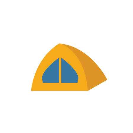 Tent icon. Simple element from travel icons collection. Creative Tent icon ui, ux, apps, software and infographics.