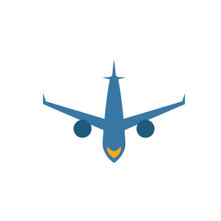 Aircraft icon. Simple element from travel icons collection. Creative Aircraft icon ui, ux, apps, software and infographics. 向量圖像