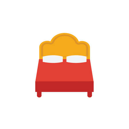 Bed icon. Simple element from travel icons collection. Creative Bed icon ui, ux, apps, software and infographics.