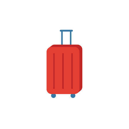 Suitcase icon. Simple element from travel icons collection. Creative Suitcase icon ui, ux, apps, software and infographics. 向量圖像