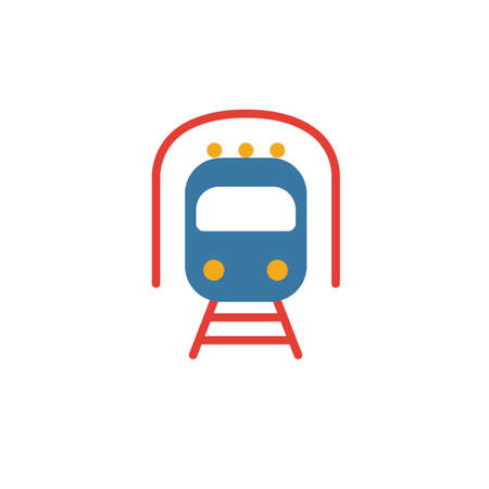 Metro icon. Simple element from transport icons collection. Creative Metro icon ui, ux, apps, software and infographics.