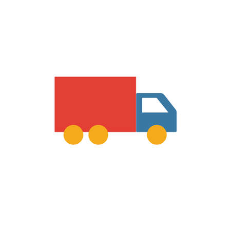 Truck icon. Simple element from transport icons collection. Creative Truck icon ui, ux, apps, software and infographics. 向量圖像