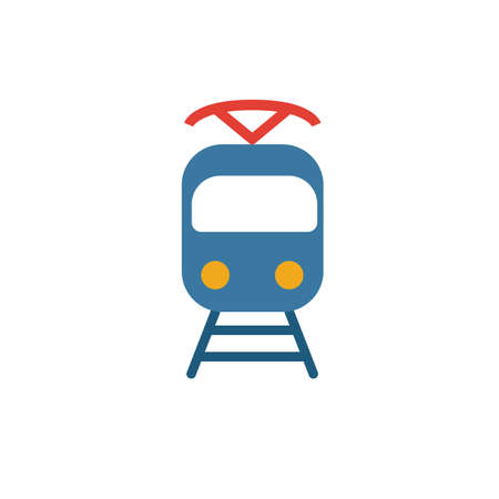 Tram icon. Simple element from transport icons collection. Creative Tram icon ui, ux, apps, software and infographics.