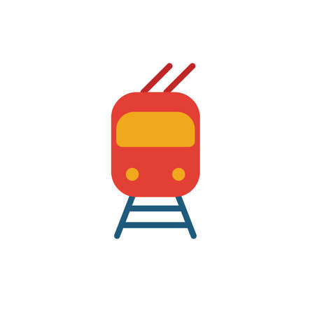 Troleibus icon. Simple element from transport icons collection. Creative Troleibus icon ui, ux, apps, software and infographics.