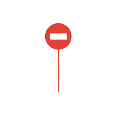 Road Sign icon. Simple element from transport icons collection. Creative Road Sign icon ui, ux, apps, software and infographics.