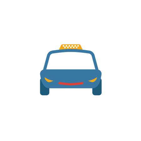 Taxi icon. Simple element from transport icons collection. Creative Taxi icon ui, ux, apps, software and infographics.
