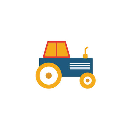 Tractor icon. Simple element from transport icons collection. Creative Tractor icon ui, ux, apps, software and infographics.