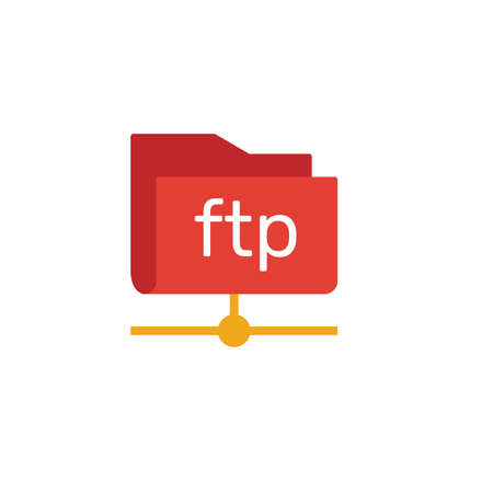 Ftp icon. Simple element from web hosting icons collection. Creative Ftp icon ui, ux, apps, software and infographics.