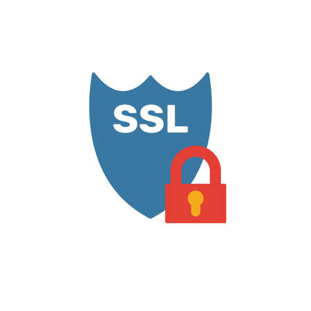 Ssl icon. Simple element from web hosting icons collection. Creative Ssl icon ui, ux, apps, software and infographics.