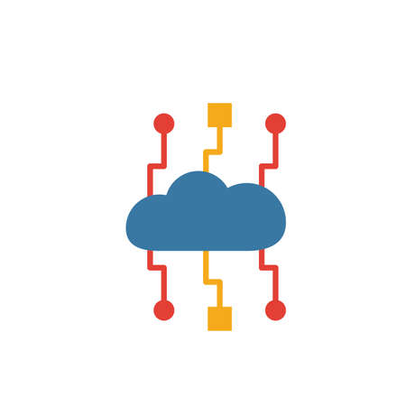 Cloud Technology icon. Simple element from web hosting icons collection. Creative Cloud Technology icon ui, ux, apps, software and infographics.