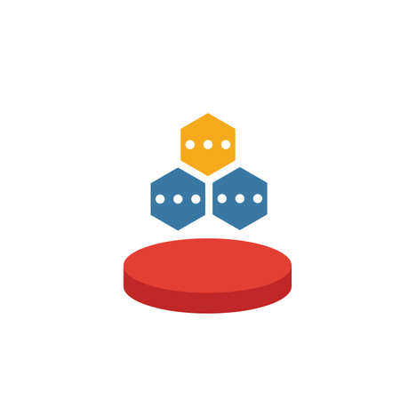 Data Structure icon. Simple element from web hosting icons collection. Creative Data Structure icon ui, ux, apps, software and infographics. 向量圖像