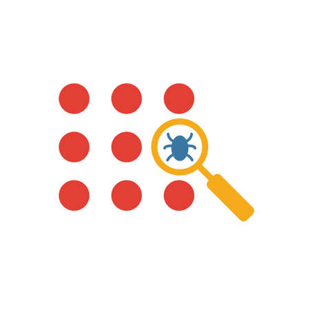 Anti-Virus Detecting icon. Simple element from icons collection. Creative Anti-Virus Detecting icon ui, ux, apps, software and infographics.