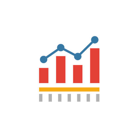 Benchmarking icon. Flat creative element from business management icons collection. Colored benchmarking icon for templates, web design and software.