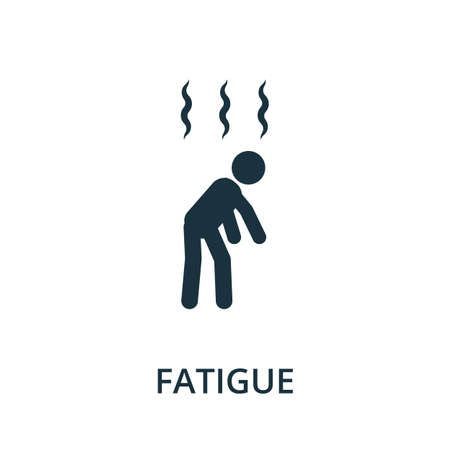 Fatigue icon. Simple illustration from coronavirus collection. Creative Fatigue icon for web design, templates, infographics and more.
